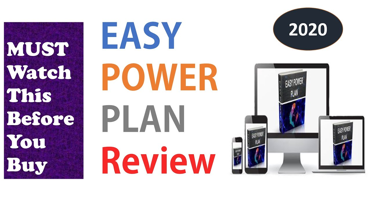 Full Easy Power Plan Review